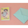 Handcrafted Opening It's A Boy Announcement and Envelope