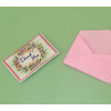 Handcrafted Opening Thank You Card and Envelope