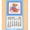 Handcrafted Teddy Bear Calendar