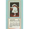 Handcrafted Victorian Girl Dollhouse Calendar