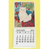 Handcrafted Fluffy Kitten Dollhouse Cat Calendar