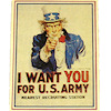Uncle Sam Wants YOU Army Recruiting Poster