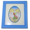 Mary Mary Quite Contrary Framed Picture