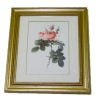 Gilded Frame Pink Rose Picture