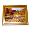 Autumn By The Stream Framed Picture