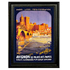 Miniature Palace in France Framed Picture