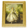 Victorian Lady Dancing Framed Picture