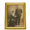 Instant Ancestors Framed Wealthy Victorian Relatives Picture