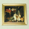 Framed Naughty Kitties Kittens Cat Picture