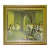 Degas Ballet Rehersal Picture in Ornate Golden Frame