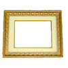 Double Matted Gilded Victorian Picture Frame