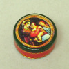 Opening Raphael Madonna and Child Sewing Tin