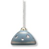 Working Modern Blue Ceramic Hanging Lamp