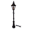Large Working Old Time Illuminated Street Lamp or Yard Lamp