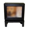 Illuminated Swiveling Console Television on Stand