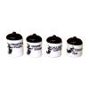 Handcrafted Halloween Witch Canister Set