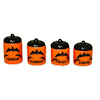Handcrafted Horrible Bats Halloween Magic Canister Set