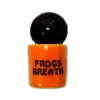 Handcrafted Ceramic Halloween Frog Breath Canister