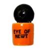 Handcrafted Ceramic Halloween Eye of Newt Canister