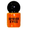 Handcrafted Ceramic Spider Eyes Halloween Canister