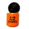 Handcrafted Ceramic Bone Meal Cookies Halloween Cookie Jar
