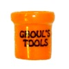 Handcrafted Ceramic Ghoul's Tools Halloween Crock
