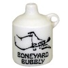 Handcrafted Ceramic Boneyard Bubbly Halloween Jug