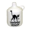 Halloween Black Cat Vampire Venom Jug Handcrafted Ceramic