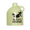 Handcrafted Ceramic Halloween Witch Revenge Jug