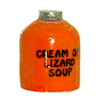 Handcrafted Halloween Jug - Cream of Lizard Soup