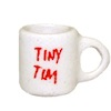 Tiny Tim Christmas Coffee Mug Handcrafted Ceramic