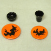 Handcrafted Ceramic Halloween Witch Place Setting