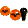 Handcrafted Ceramic Halloween Bats Place Setting
