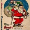 Illustrated The Night Before Christmas 1887 Miniature Book