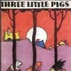 Handcrafted Illustrated Miniature Book - The Three Little Pigs