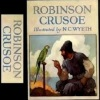 Handcrafted Illustrated Miniature Book - Robinson Crusoe