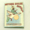 Handcrafted Miniature Book-Mother Goose Rhymes Illustrated Book