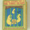 The Three Bears Handcrafted Readable Illustrated Miniature Book