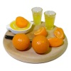 Artisan Crafted Orange Juice In Progress