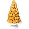 Christmas Tree Croquembouche French Cream Puff Pastry Dessert