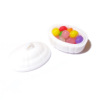 Easter Jelly Beans in Egg Shape Dish