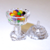 Filled Easter Jelly Beans Covered Dish