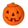 Halloween Carved Pumpkin Jack O Lantern with Removable Top