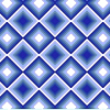 Blue Diamond Cross Stitch Rug Pattern