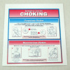 Handcrafted Choking Instructions Sign