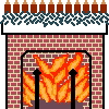 Christmas Hearth Rug Cross Stitch Rug Pattern