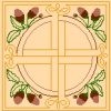 Celtic Oak Rug Cross Stitch Rug Pattern