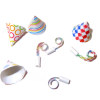 Miniature Party Set - Hats and Noisemakers