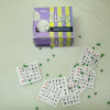 Handcrafted 1950s Bingo Cards & Markers Set