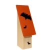 Lorraine Heller Handcraft Real Wood Haunted Halloween Bat House